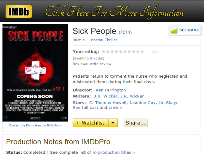 Sick People Movie